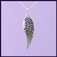 Angel Wing - right, ornate